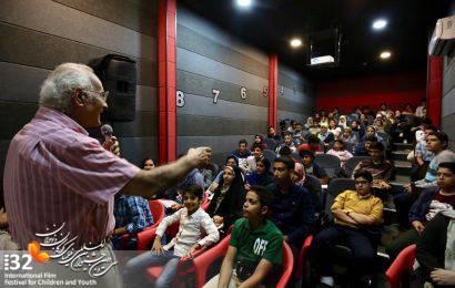 گزارش تصویری / کارگاه آمورشی درک فیلم در سی و دومین جشنواره بین المللی فیلم های کودکان و نوجوانان