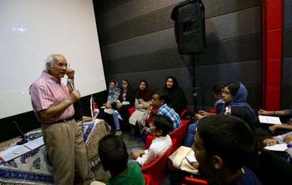 سینما به زبان ساده برای کودکان و نوجوانان (دکتر احمد الستی ـ یک روز)