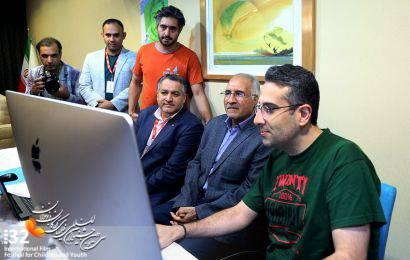 گزارش تصویری / بازدید شهردار اصفهان از ستاد خبری سی و دومین جشنواره بین المللی فیلم های کودکان و نوجوانان