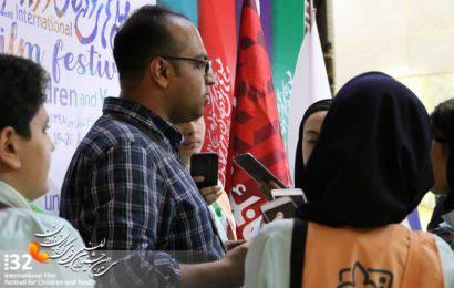 حال خوب جشنواره با حضور خبرنگاران نوجوان