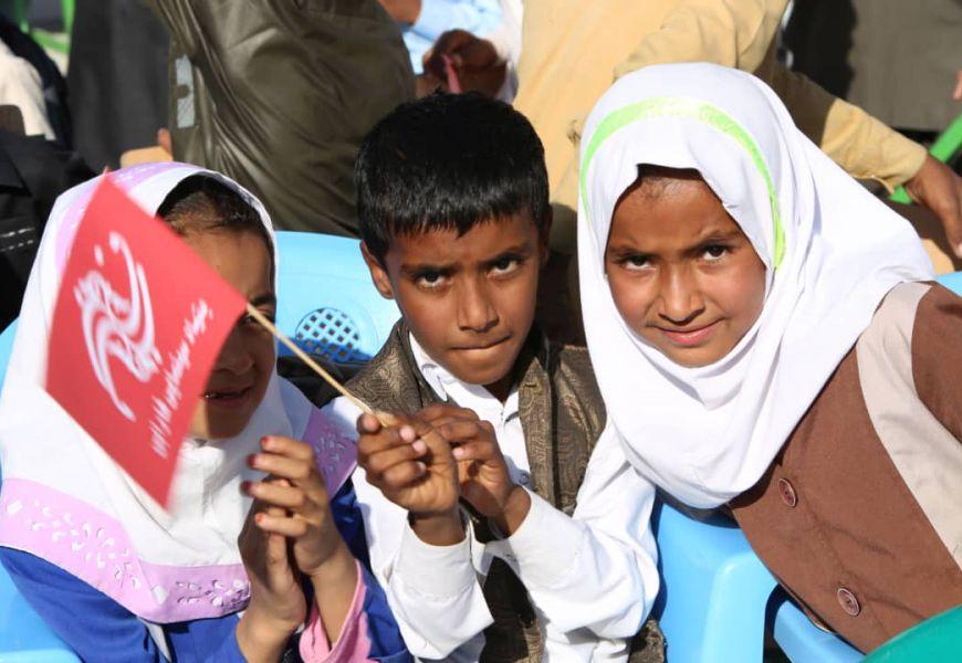 گزارش تصویری/ کاروان «بچههای آفتاب» در شهرستان سرباز