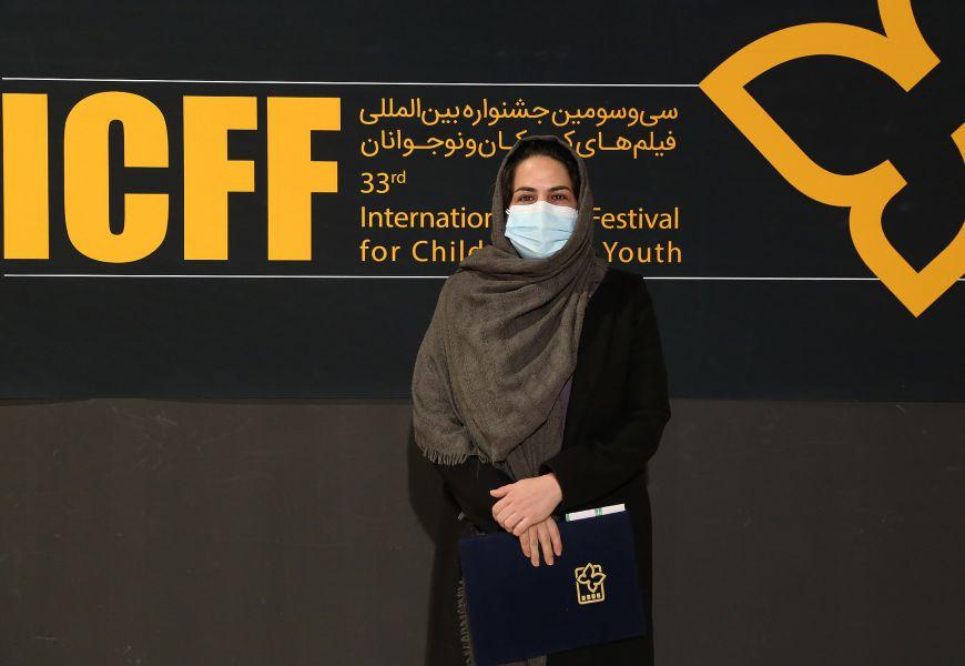 رقیه توکلی: جایزه ویژه شهید بهنام محمدی برای من خیلی ارزشمند است | سینمای کودک و نوجوان را باید جدی گرفت، چون بچهها آینده مملکت را میسازند