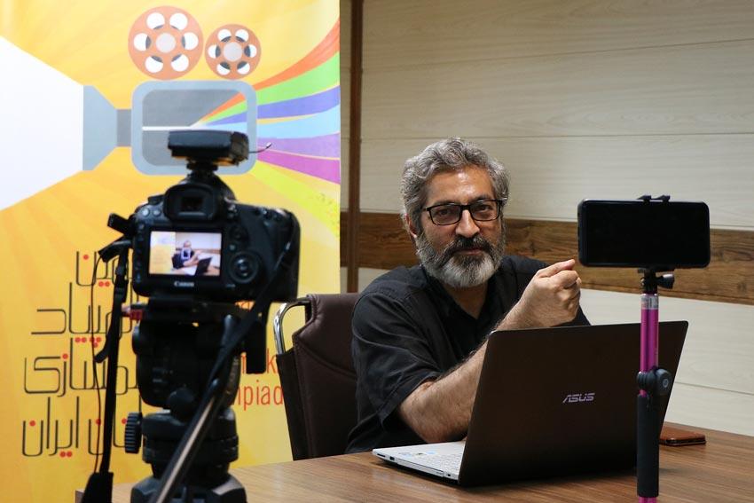 گزارش نشست انتقال تجربه «حبیب احمدزاده» در المپیاد فیلمسازی نوجوانان ایران