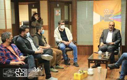 آخرین جلسه میان منتورها و مدیر المپیاد فیلمسازی نوجوانان برگزار شد