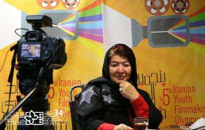 گزارش نشست انتقال تجربه «پوران درخشنده» در المپیاد فیلمسازی نوجوانان ایران